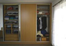 Vestavná skřín v ložnici4