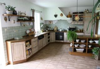 Kuchyň 18: provence styl