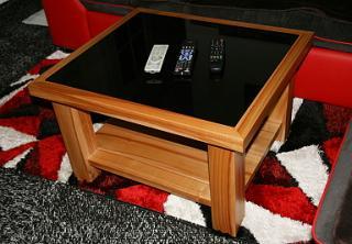Konferenční stolek masiv třešeň